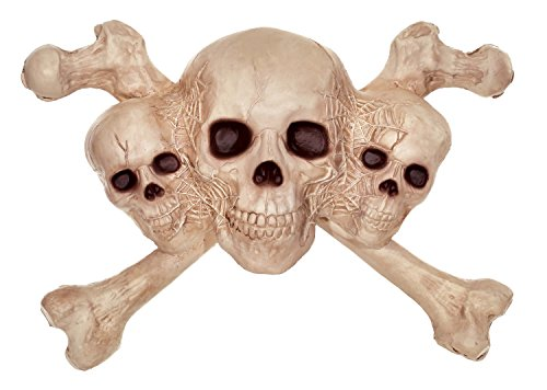 Crazy Bonez Skull & Crossbones Wall Decoration]()