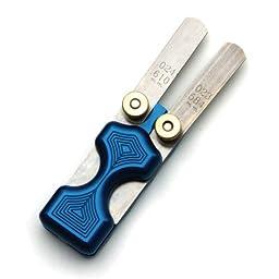 LSM Racing Products  FH-200BL Blue Dual Feeler Gauge Holder