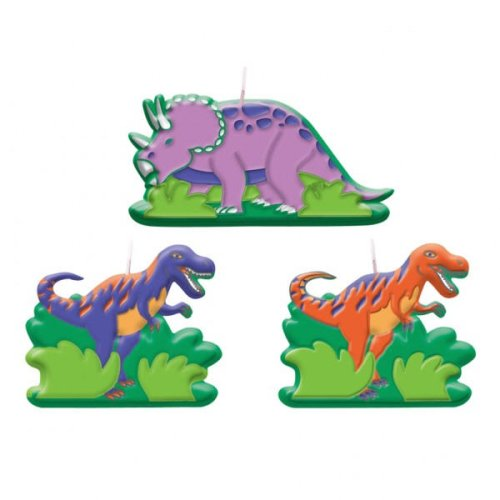 Dinosaur Party Candle (6-pack), Health Care Stuffs