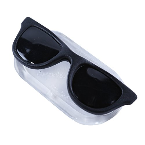 ReadeREST Magnetic Eyeglass Holder for Men & Women, Black Shades Edition