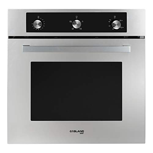 GASLAND Chef 24″ Built-in 6 Cooking Function Single Wall Gas Oven, Mechanical Knob Control Gas Wall Oven