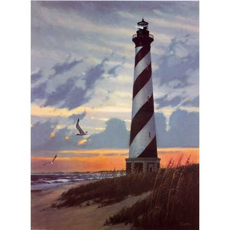 Out Jigsaw Puzzle 100 Pc (Heritage Puzzle - Lisa Cooper - Cape Hatteras - Jigsaw Puzzle - 550 Pc)