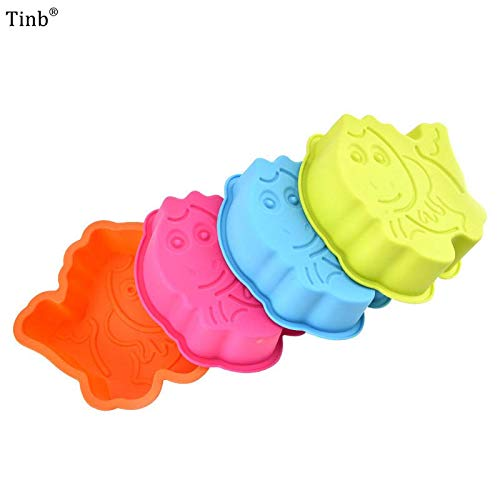 - 1 piece 3d Fish Shape Silicone Mold For Soap Cake Decorating Tools Diy Cake Design Silicone Soap Mold Chocolate Mould Cake Baking Pan