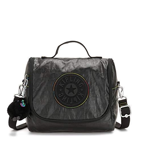 - Kipling Kichirou Lunch Bag Black Lacq Glt