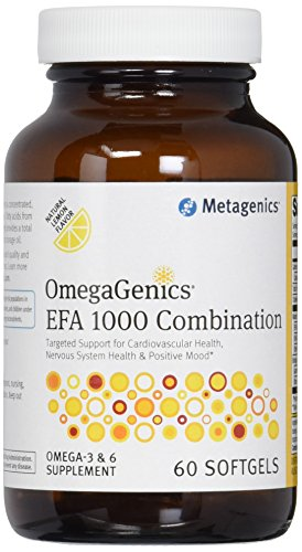 Metagenics – OmegaGenics EFA 1000 Combination, 60 Count
