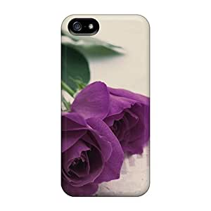 Dana Lindsey Mendez Snap On Hard Case Cover Purple Rose Protector For Iphone 5/5s