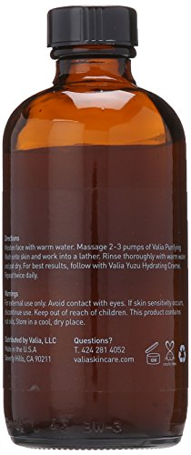 Valia Skincare Purifying Wash, 6 Fluid Ounce