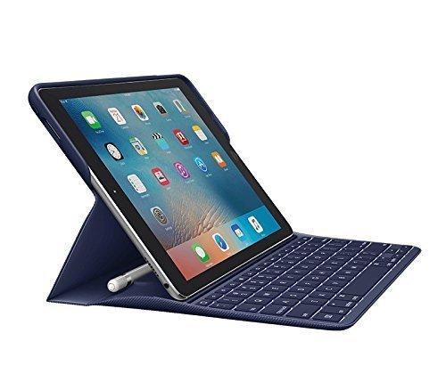 Logitech iPad Pro 9.7 Keyboard Case | Create: Backlit Wireless Keyboard with Smart Connector (Navy Blue)(Renewed)