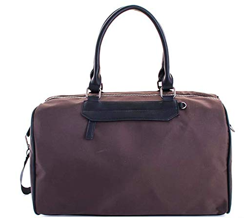 (Madison West 2 in 1 Men's Carry On Duffel Bag Weekender With Extra Shoe Tote. Canvas Classic Athletic Collection)