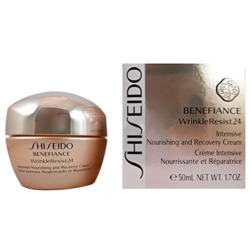 - Shiseido Benefiance Wrinkle Resist Intensive Nourishing and Recovery Cream, 1.7 Ounce