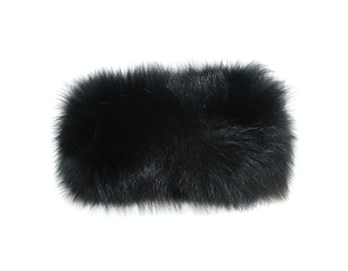 New Fox Fur Headband - 4