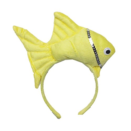 Kirei Sui Fish Headband Yellow]()
