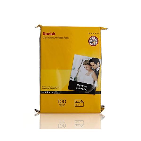 Kodak Inkjet Paper Poly Pack 4X6 280 GSM [100Sheets]