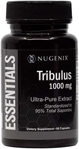 Nugenix Essentials Tribulus Terrestris Extract - 95% Total Saponins, 1000mg High Potency, Extra Strength
