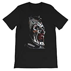 A is for Art the Clown The Terrifier Horror Movie graphics gift for men women girls Unisex T-Shirt Sweatshirt Hoodie Printed at USA, shipped from USA. Perfect idea for Halloween, Birthday, Father Day, Mother Day and other occasions. Looks lik...