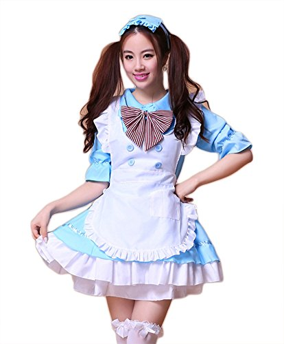 AvaCostume Adult Anime Cosplay French Maid Fancy Dress Costume
