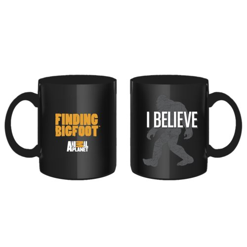 Finding Bigfoot I Believe Mug