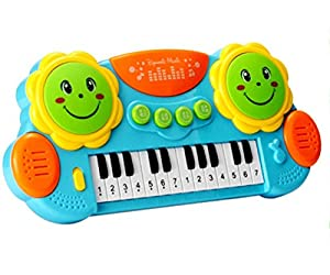 RYGHEWE Baby Drums Musical Toys Piano Gifts Toys for 1 Year Old Toddler Keyboard Birthday Festival Gift Learning Toys US Stock        ➤Feature:       This product uses high-quality environmentally friendly materials, combined with rich and gentle ...