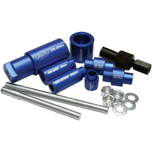 Motion Pro Deluxe Suspension Bearing Service Suspension Motorcycle Tool Accessories - Aluminum / One Size