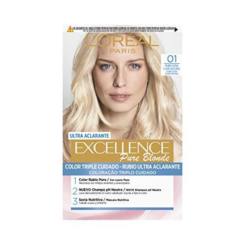 🥇 L'Oréal Paris Excellence Coloración Crème Triple Protección
