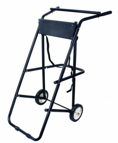 TMS T-OMC-130 Outboard Boat Motor Stand Carrier Cart Dolly, 130-Pound primary