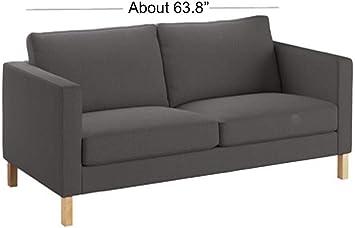 Amazon.com: Heavy Cotton Karlstad 2 Seater Loveseat Sofa ...