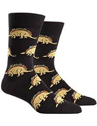 Tacosaurus, Men's Crew Socks, Taco Socks