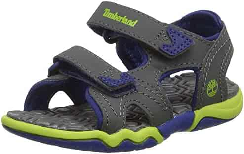 0bb362cb2b75 Timberland Adventure Seeker Dark Grey Synthetic Infant Strap Sandals