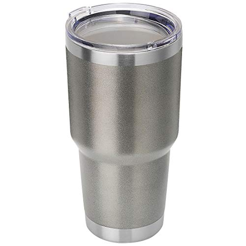 DOMICARE 30oz Double Wall Vacuum Insulated Tumbler with Lid, Stainless Steel Travel Mug, Powder Coated Coffee Cup
