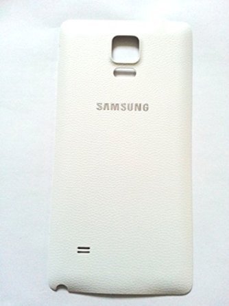 New OEM Samsung Galaxy Note 4 N910F N910A N910T N910V Back Door Battery Cover with NFC (WHITE)