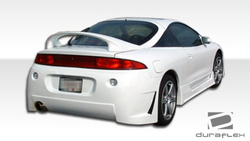Duraflex ED-CHX-799 B-2 Rear Bumper Cover - 1 Piece Body Kit - Compatible For Mitsubishi Eclipse - Body Bumper 2 Kit Rear