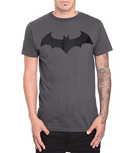 T-Shirt - Batman-Hush Logo X-Large,Grey -