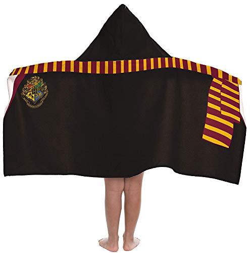 Terry Harry Potter Towels - Jay Franco Warner Bros. Harry Potter Hooded Bath/Pool/Beach Towel, Black