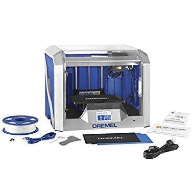 Dremel 3D40-01 Idea Builder 2.0 3D Printer, Wi-Fi Enabled with Guided Leveling
