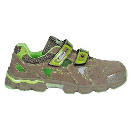 Cofra Walking S1P SRC–zapatos de seguridad talla 40Beige