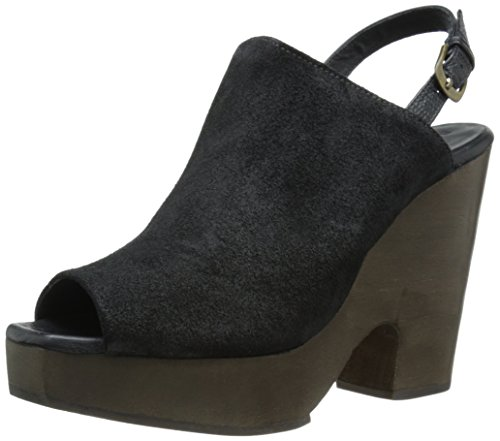 Women's Black Distressed Mule Serra Rachel Comey S1qwvST