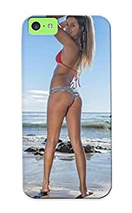 Awesome Design Girl In Bikini Hard Case Cover For Iphone 5c