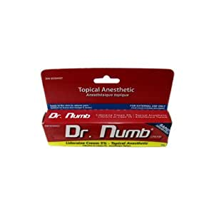 Amazon.com : Topical Anesthetic Dr Numb Numbing Cream ...