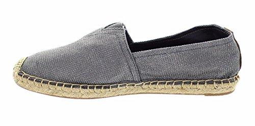Joy-Mario-Womens-Cool-Grey-Hemp-Canvas-Slip-on-Espadrille-Shoes-Flats-Loafers-01048W-in-Size-6-10-6-BM-US-10