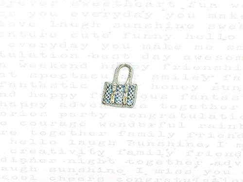 - Handbag Charm in Silver & 22k Gold