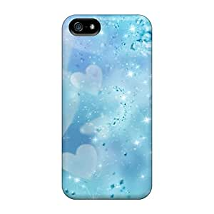 Fashionable Style Case Cover Skin For Iphone 5/5s- Love Hearts