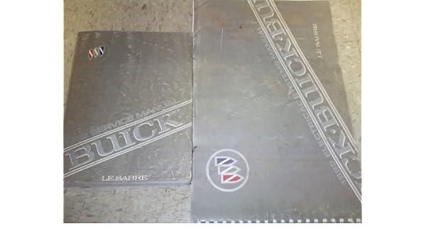 1992 Buick Lesabre Service Shop Repair Manual Set Oem Service Manual And The Electrical Wiring Diagrams Manual Gm Amazon Com Books