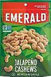 Emerald Jalapeno Cashews 5 oz ( 4 Pack)