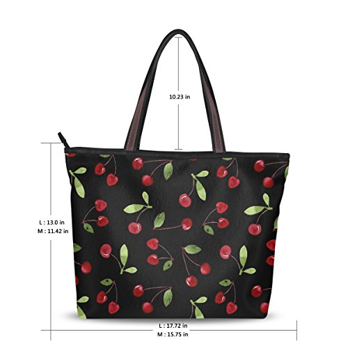 Cherry Tote Bag - 8