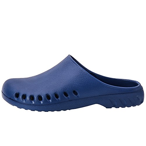 Smell Cooga Ultralite No Breathable Navy Shoes Women's Comfy Nursing Garden Clogs fq6fP