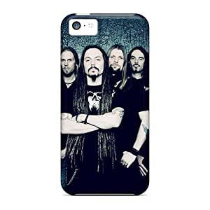 Protective Cell-phone Hard Cover For Iphone 5c (Ooy19809Wvcq) Customized Fashion Amorphis Band Image