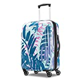 Best Lightweight Carryon Luggages - American Tourister Palm Trees Moonlight Hardside Spinner Luggage Review
