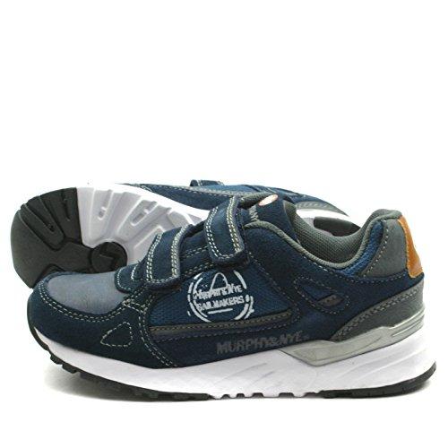 MN912 Murphy&Nye Velcro Straps Shoe Sporty for Boys >                     > Sportlicher Schuh mit Klettverschluss für Jungen Marineblau
