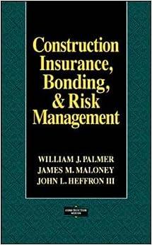 Construction Insurance, Bonding, and Risk Management