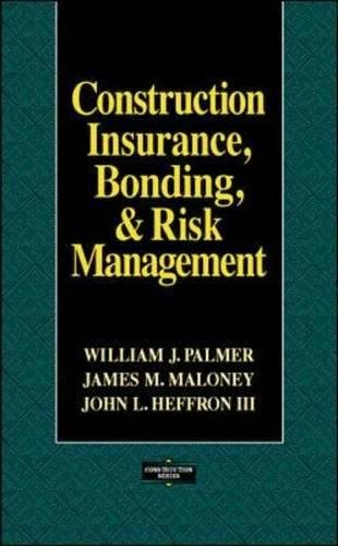 Pdf Home Construction Insurance, Bonding, and Risk Management